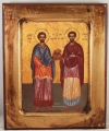 Saints Kosmas and Damian of Rome (available in 4 sizes starting at $20.00)