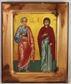 Holy and Righteous Joachim (Joseph) and Anna (available in 4 sizes starting at $20.00)