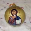 Christos (Christ the Pantocrator) Christmas Ornament