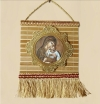 Bamboo Hanging Wall Icon of the Panagia (Theotokos or Virgin Mary)