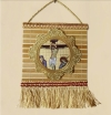 Bamboo Hanging Wall Icon of the Crucifixion of Christ