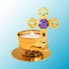 Mini Cross T-Lite Candle Holder