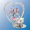 Angel with Heart Tea Light Candle Holder (6 Colors)