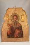 St. Haralambos Marble Icon (available in 3 sizes starting at $40.00)