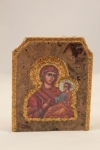 Panagia (Theotokos) Marble Icon (available in 3 sizes starting at $40.00)
