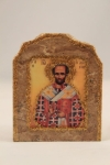 St. John Chrysostom Marble Icon (available in 3 sizes starting at $40.00)