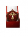 Orthodox Cross Christmas Ornament