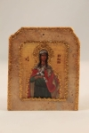 St. Kyriaki Marble Icon (available in 3 sizes starting at $40.00)