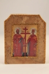 Saints Constantine and Helen Marble Icon (available in 3 sizes starting at $40.00)