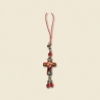 Cross Cell Phone Charm