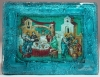 Wedding of Cana Glass Icon (Avail. in several colors and sizes)