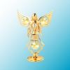 Angel with Candles on Stand (available in 6 colors)
