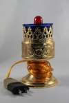 Electric Standing Votive - Gold Plated