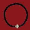 33 Knot Thin Prayer Rope (available with blue or red beads)