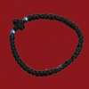 33 Knot Thin Wool Prayer Rope with Wool Cross