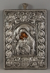 Silver Icon of Panagia