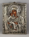 Sterling Silver Icon of Panagia