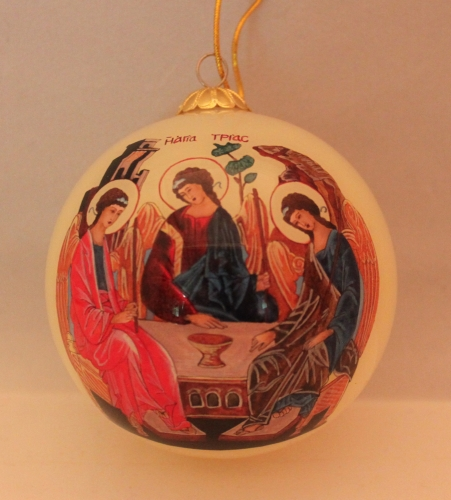 old testament holy trinity christmas ornament