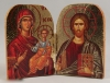 Travel Diptych of Christ and Panagia