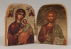Travel Diptych of Christ and the Panagia