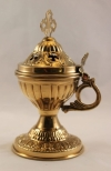 Brass Plated Censer (Incense Burner)